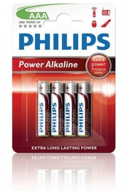 Philips PowerLife Batteries AAA