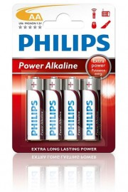 Philips PowerLife Batteries AA