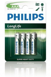 Philips LongLife Batteries AAA